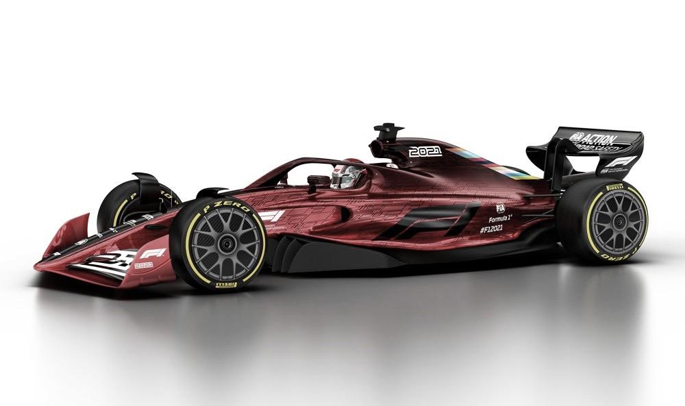 Elas chegaram! F1 divulga propostas para a revolução da categoria em 2021