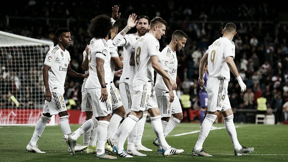 Melhores momentos Real Madrid 0 x 0 Real Betis pelo Campeonato Espanhol 2019