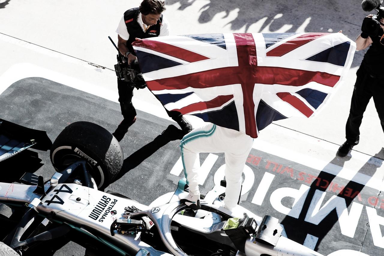 Valtteri Bottas vence GP dos EUA, mas a festa é do hexacampeão Lewis Hamilton