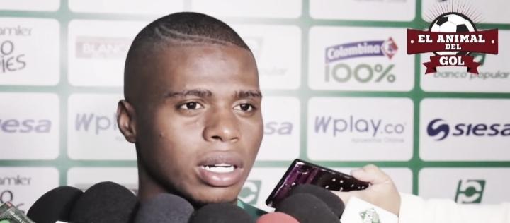 """Déiber Caicedo: """"Siempre mi trabajo va en pro del equipo"""""""