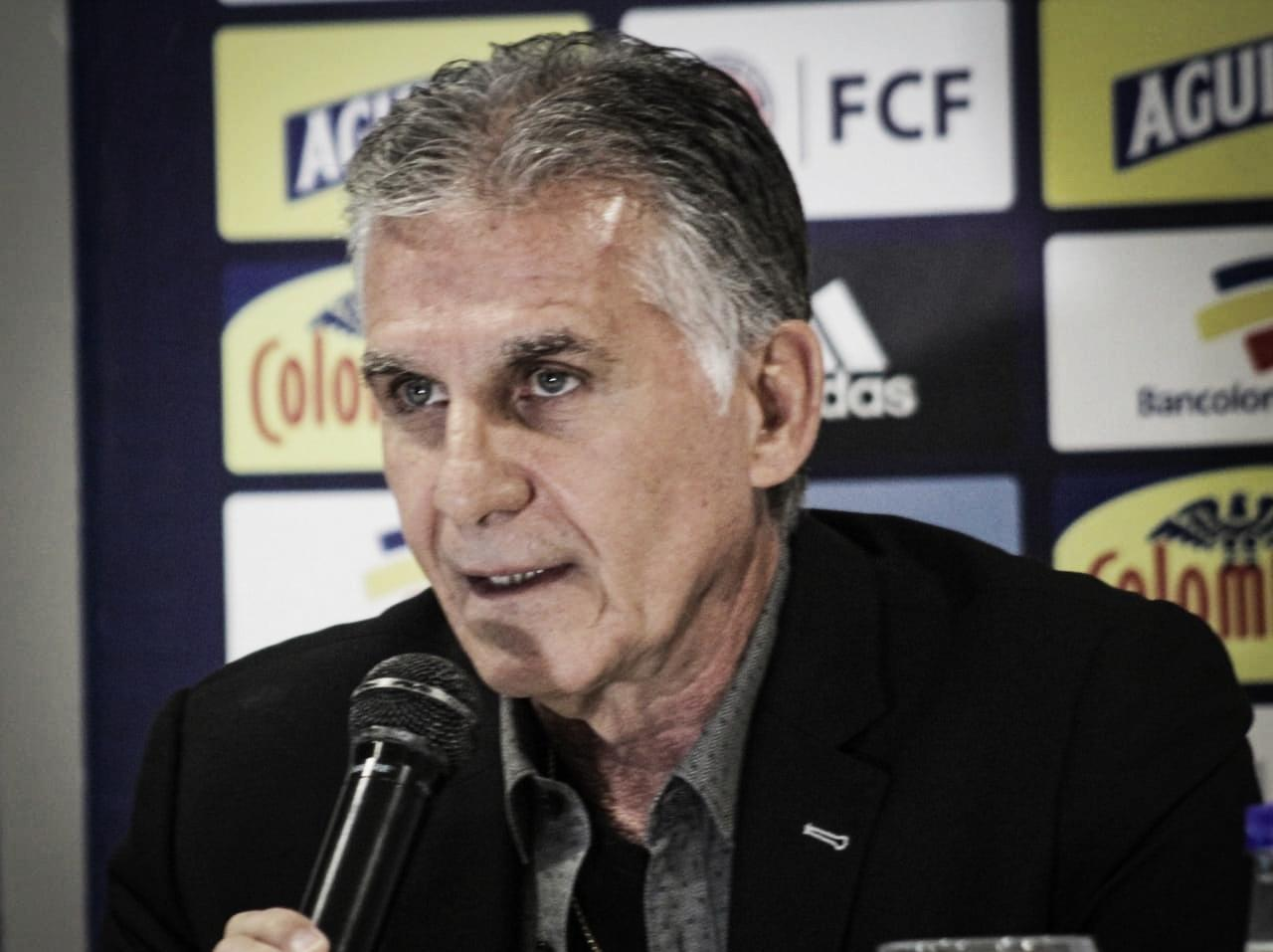 Queiroz anunció los convocados para amistosos ante Ecuador y Perú