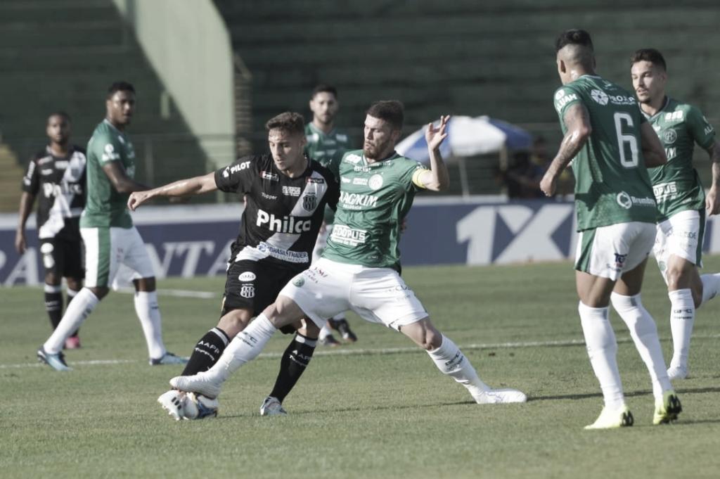 Guarani e Ponte Preta ficam no empate em dérbi campineiro pela Série B