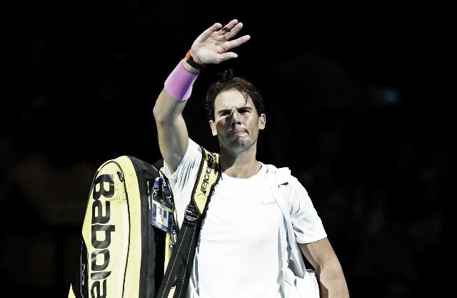 Zverev batió a Nadal en su defensa de las Finales ATP