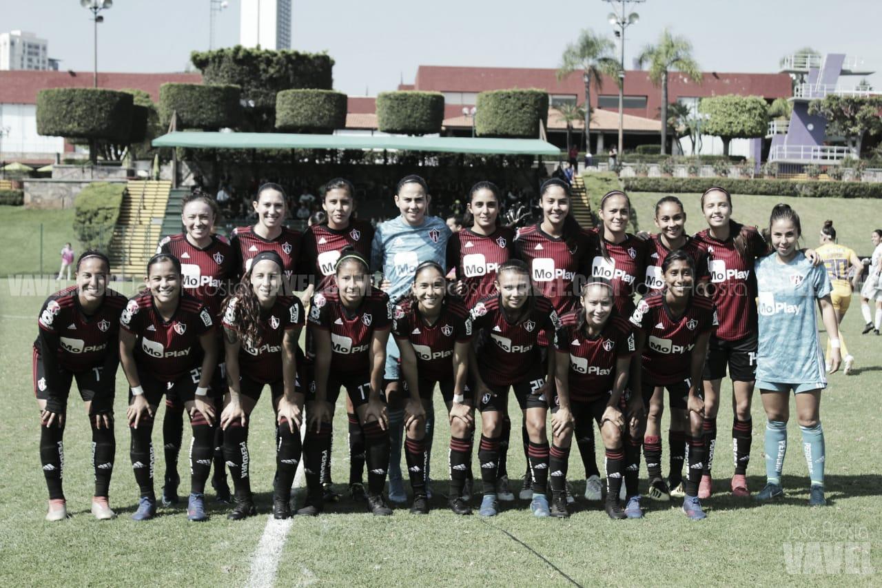 La irregularidad dominó a Atlas Femenil en el Apertura 2019