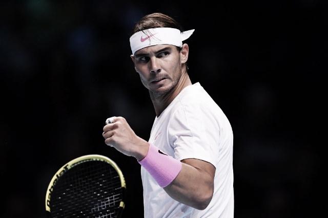 Nadal ganó un partido épico y sigue vivo en el Masters