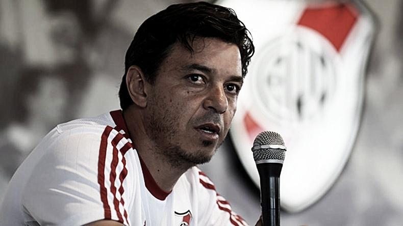 """Técnico do River, Gallardo já projeta final contra o Flamengo: """"Aspecto mental também joga"""""""
