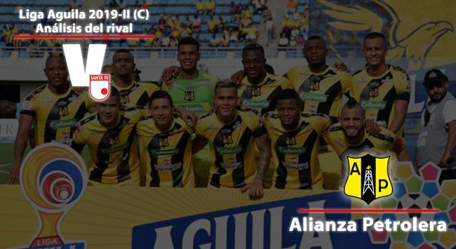 Independiente Santa Fe, análisis del rival: Alianza Petrolera