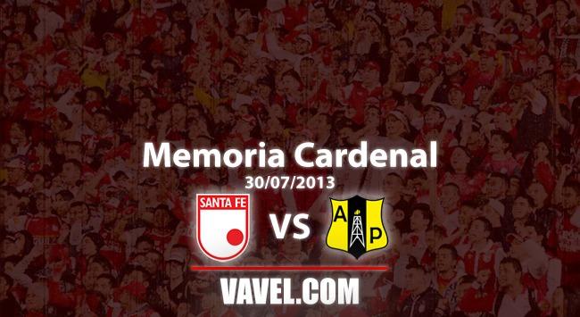 Memoria 'cardenal': empate en el primer Santa Fe vs. Alianza Petrolera de la historia en Bogotá