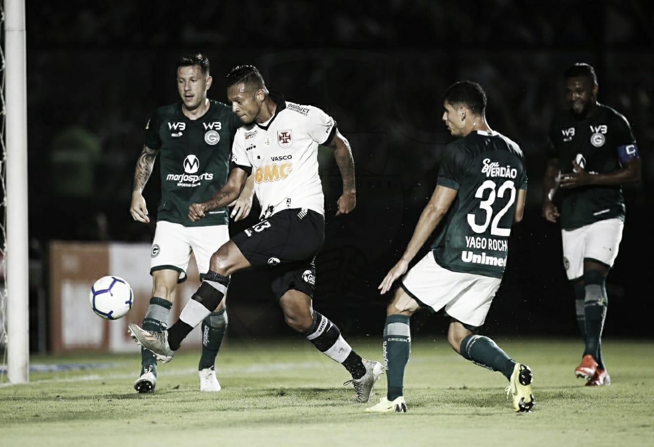 Vasco x Goiás: ambos em busca de afirmação