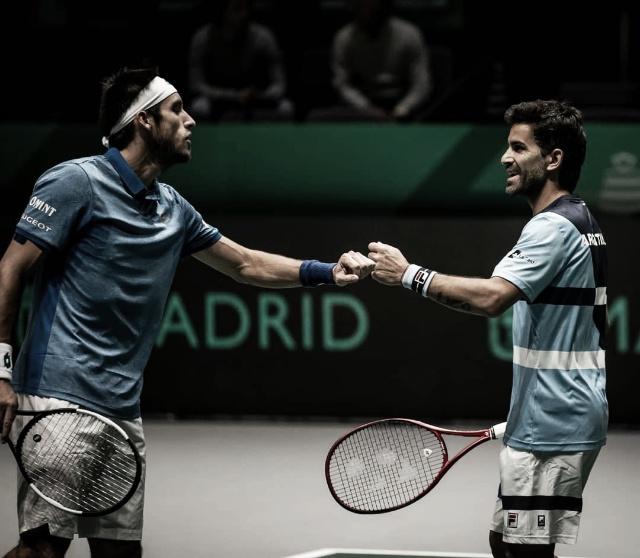 Copa Davis: Argentina barrió a Chile en el debut