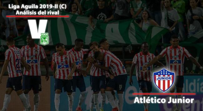 Atlético Nacional, análisis del rival: Junior de Barranquilla