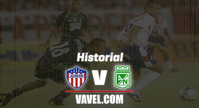 Historial Atlético Junior vs. Atlético Nacional: la hora de la verdad