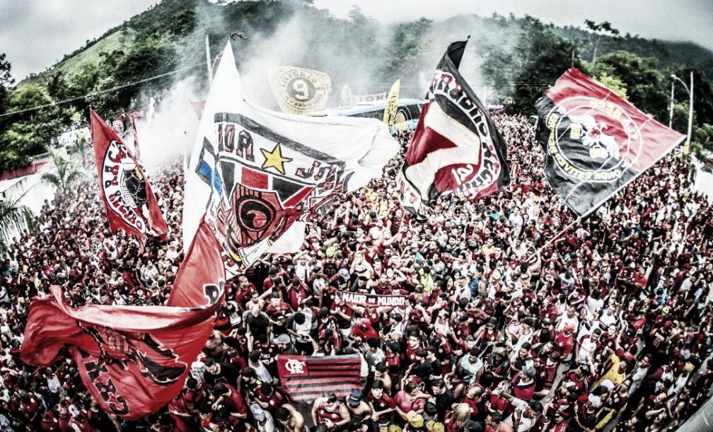 Flamengo x River Plate: a repercussão do #AeroFla no embarque rubro-negro a Lima