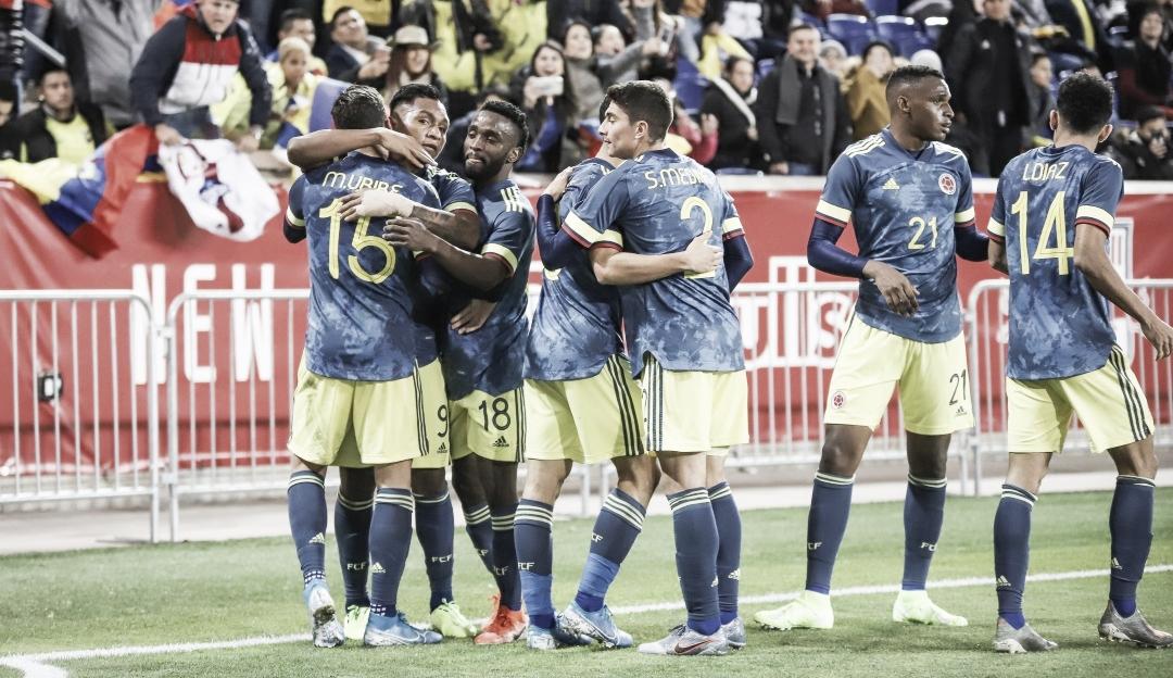 Colombia ganó pero sufrió ante Ecuador