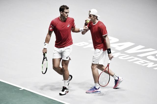 Copa Davis: Canadá venció a Australia y es el primer semifinalista