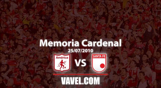 Memoria 'cardenal': el día en que América fue local en Girardot y Santa Fe le ganó