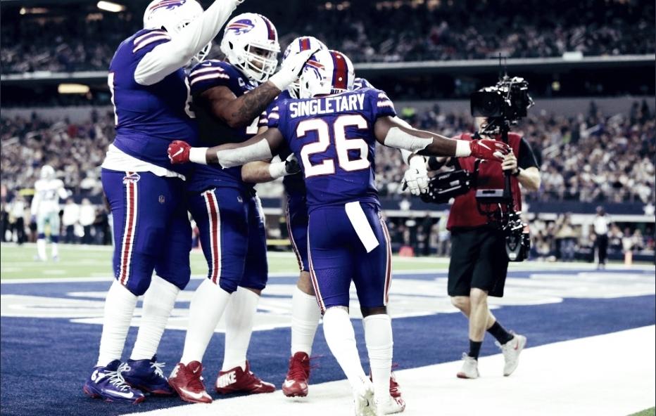 Cowboys ligan su segunda derrota, caen ante Bills