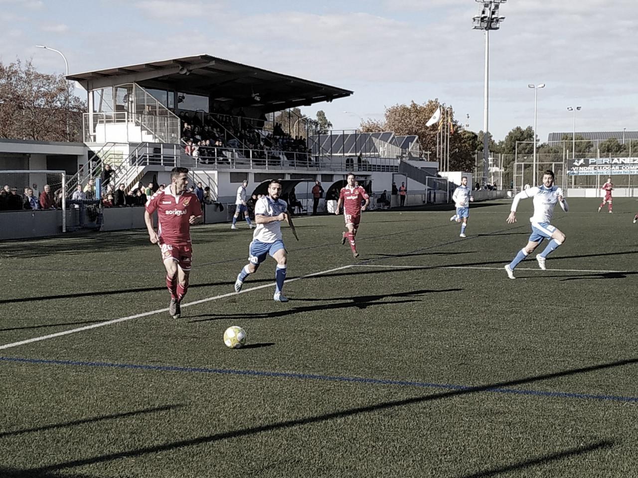 AE Prat - Nàstic de Tarragona (1-3): Victoria sufrida en el Sagnier