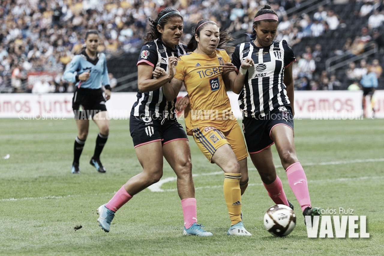 Rayadas cobra revancha y vence a Tigres en Final de Liga MX Femenil