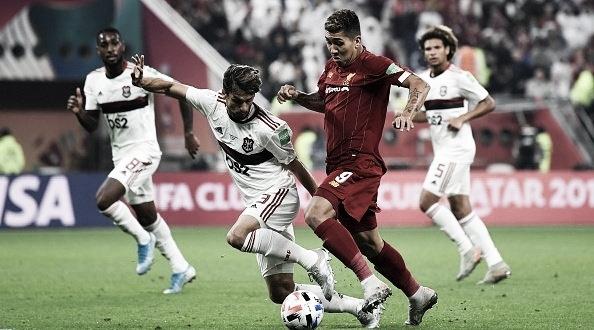 """""""Flamengo impôs sua ideia de jogo e isso é o mais legal"""", conta Rodrigo Caio"""