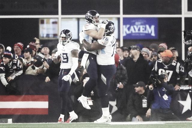 Titans van a Foxborough y elimina a los Patriots