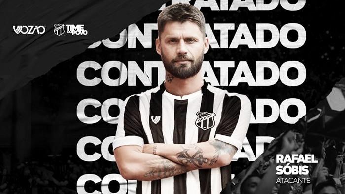Atacante de 34 anos, Rafael Sobis assina com Ceará até dezembro de 2020