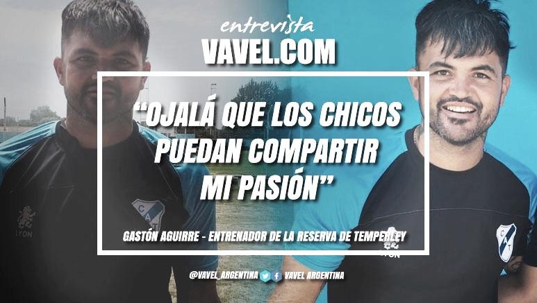 """Entrevista. Gastón Aguirre: """"La idea será tratar de plasmar una idea de juego como la de la Primera División, pero va a ser exigente para revertir lo que pasó el primer semestre"""""""
