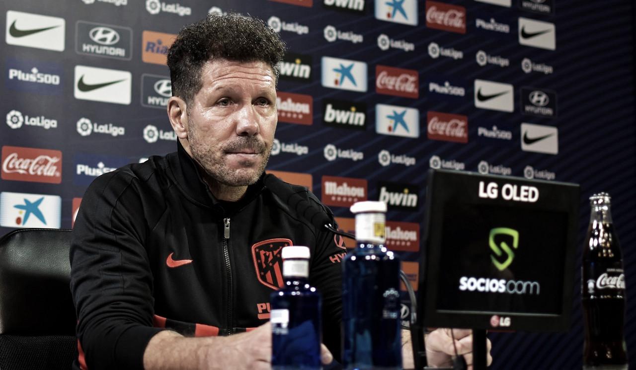 """Simeone: """"El Eibar es un rival duro"""""""