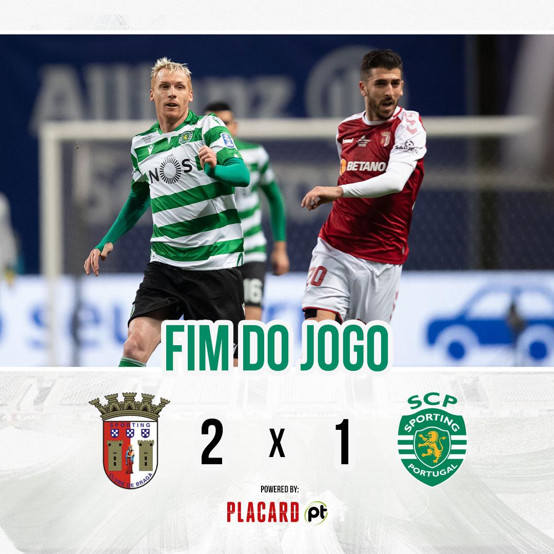 SC Braga na final da Taça da Liga