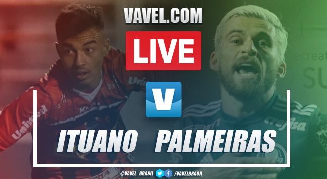 Resultado e gols para Ituano 0x4 Palmeiras pelo Campeonato Paulista 2020