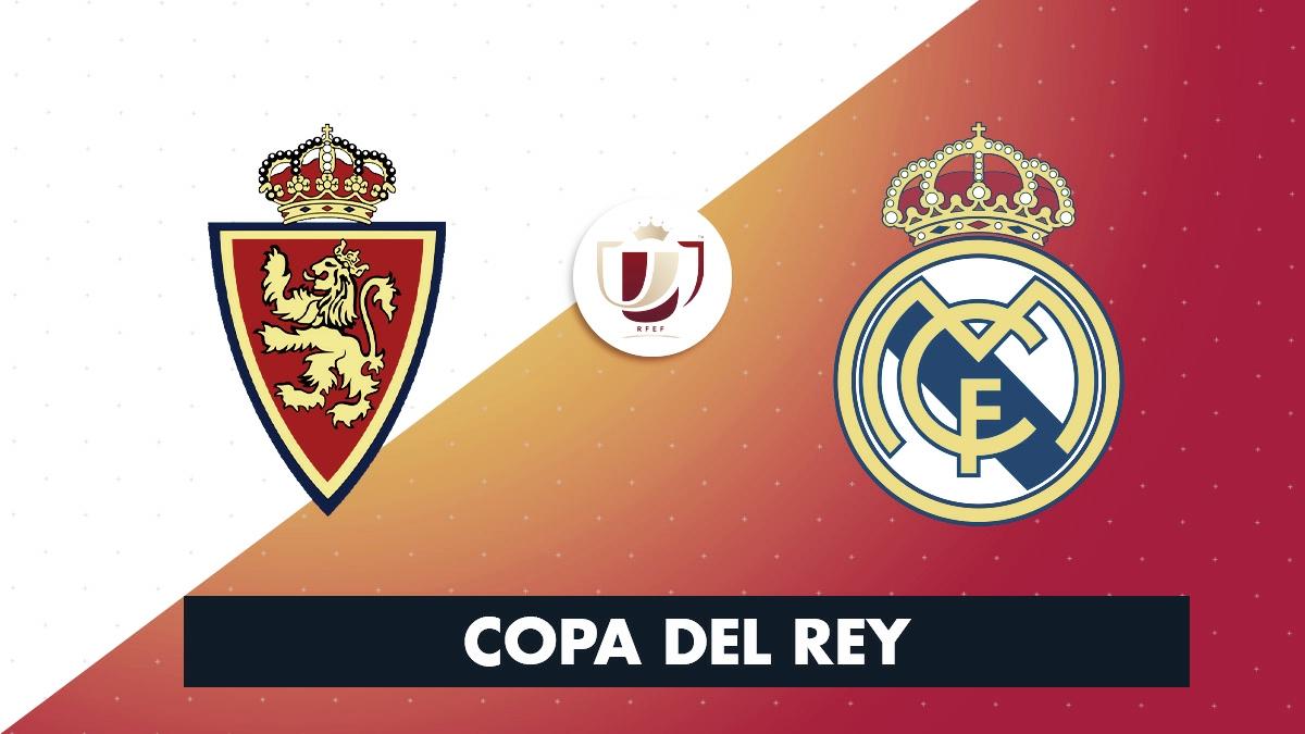 El Real Madrid jugará contra el Real Zaragoza en octavos de Copa del Rey