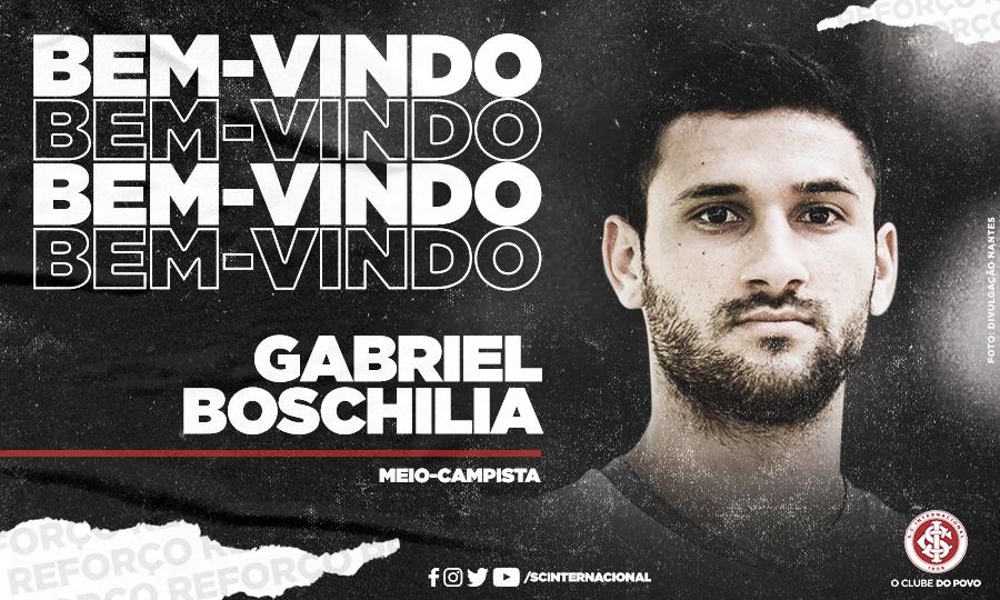Desejo antigo, Gabriel Boschilia é anunciado pelo Internacional