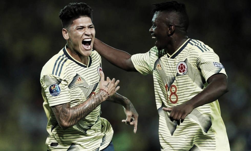 Colombia venció a Venezuela y está a un paso de la clasificación