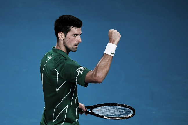 Djokovic doblegó a Federer y es el primer finalista del Australian Open