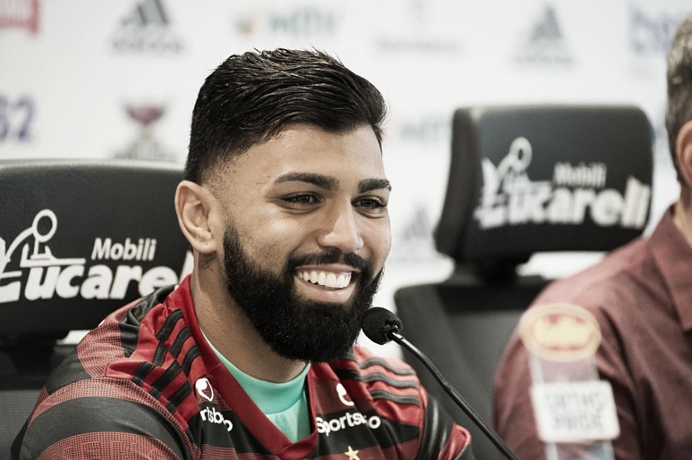 De volta! Na reapresentação, Gabigol fala de amor pelo Flamengo, contratações e retorno