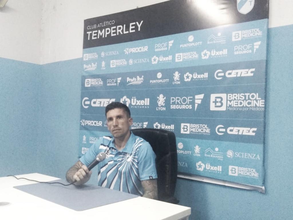 """Federico Crivelli: """"Estoy muy contento de volver al arcodespués de mucho tiempo"""""""