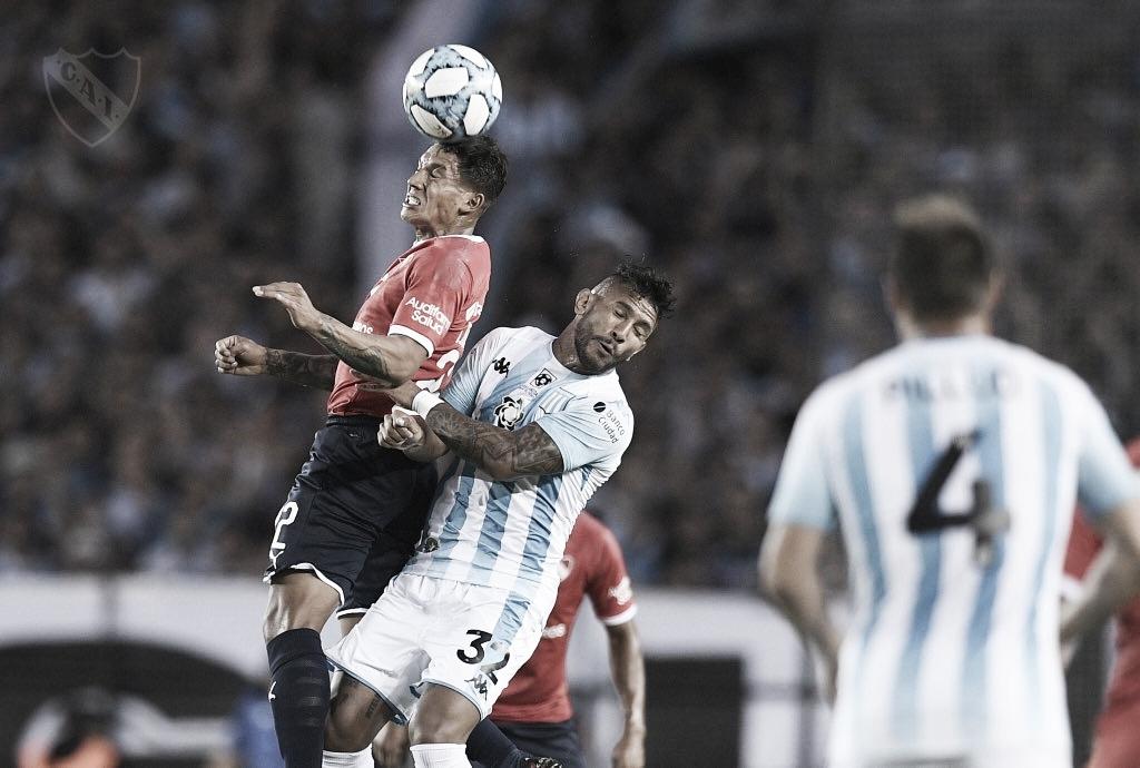 Independiente no pudo, Racing lo aprovechó
