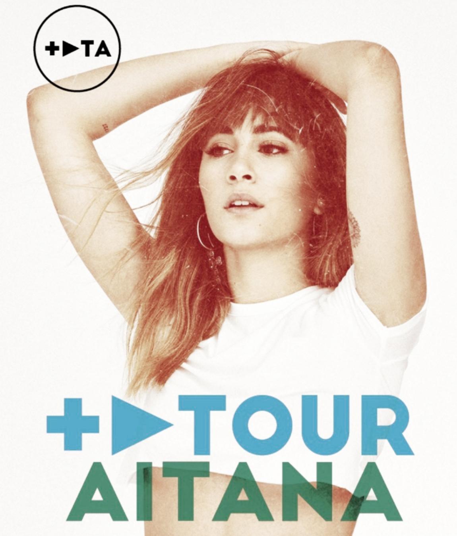 Primeras fechas confirmadas del '+ Play Tour' de Aitana