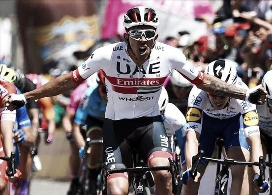 Juan Sebastián Molano ganó el sprint de la segunda etapa