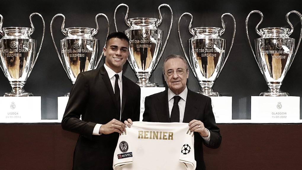 Reinier é apresentado, assina contrato e quer 'fazer parte da história' do Real Madrid