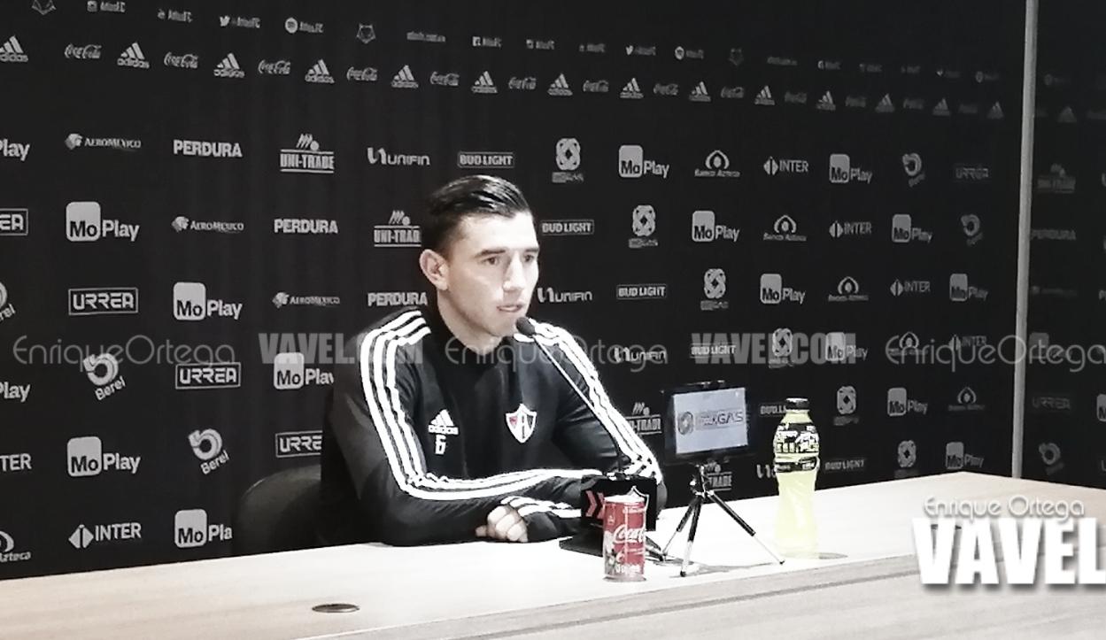 "Edgar Zaldívar: ""Es urgente volver a ganar"""