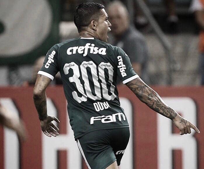 Dudu marca em seu 300º jogo e garante vitória do Palmeiras sobre Guarani