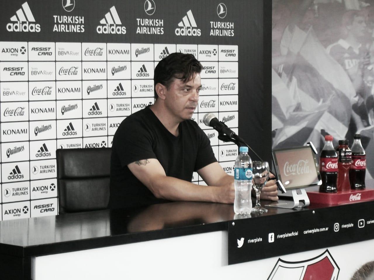 """Gallardo: """"Mi desafío es ganar el campeonato"""""""