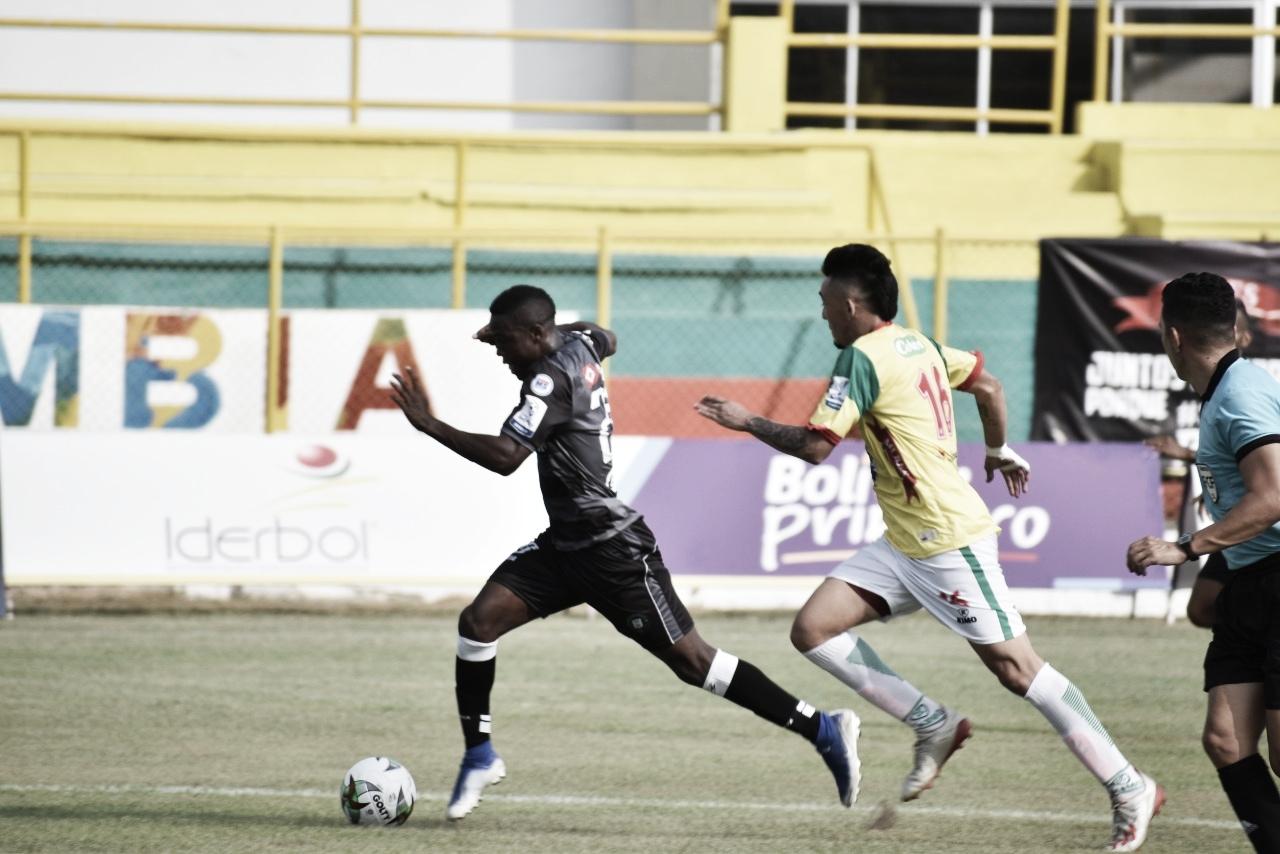Real Cartagena cayó ante el Valledupar FC como local