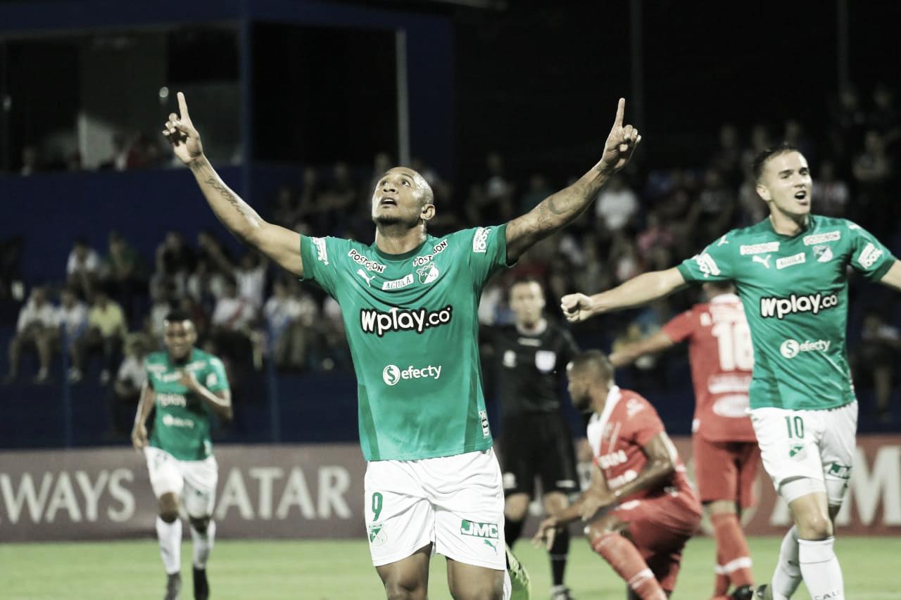 Contundencia y gol, Deportivo Cali avanza en Copa Sudamericana