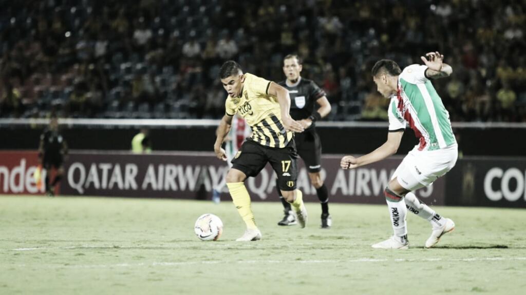Guaraní-PAR bate Palestino-CHI, se classifica na Libertadores e chega no grupo do Palmeiras