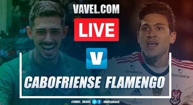 Gols e melhores momentos de Cabofriense 1 x 4 Flamengo pelo Campeonato Carioca 2020