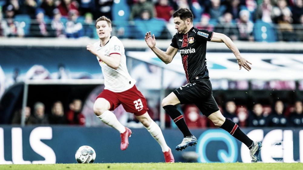 RB Leipzig barra boa sequência do Leverkusen mas perde chance de colar no líder