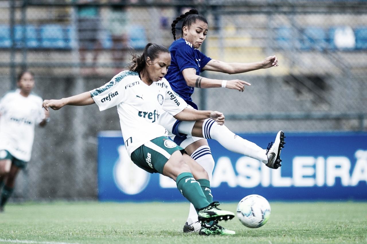 Fora de casa, Palmeiras goleia Cruzeiro pelo Brasileirão Feminino