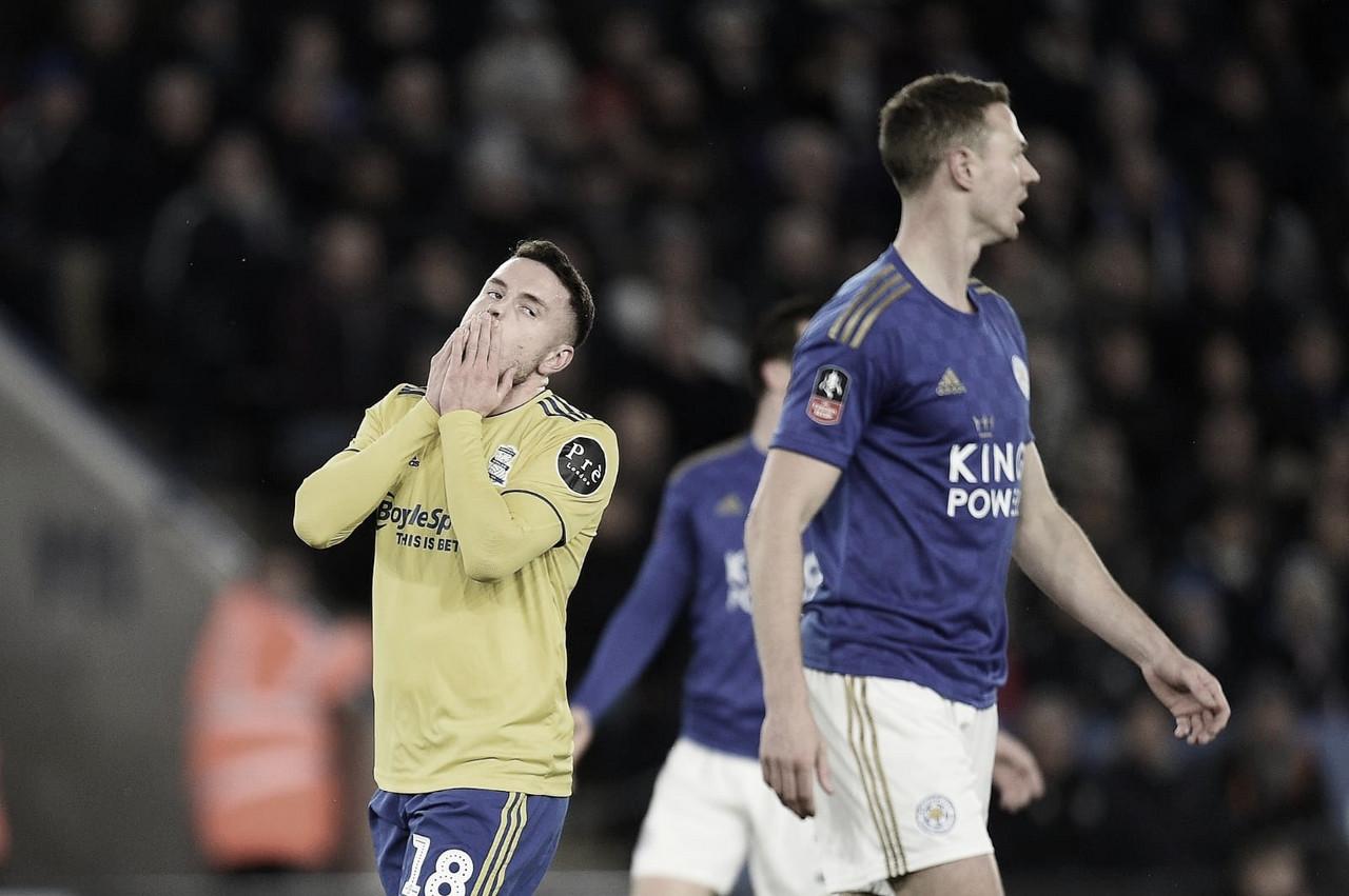 Em jogo complicado, Leicester vence Birmingham e avança às quartas de final da FA Cup